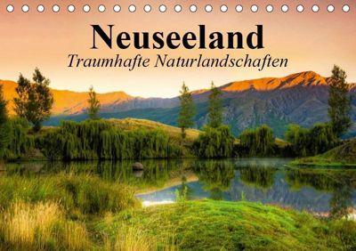 Neuseeland. Traumhafte Naturlandschaften (Tischkalender 2019 DIN A5 quer), Elisabeth Stanzer