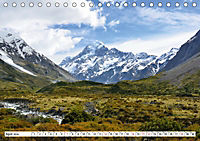 Neuseeland. Traumhafte Naturlandschaften (Tischkalender 2019 DIN A5 quer) - Produktdetailbild 4