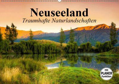 Neuseeland. Traumhafte Naturlandschaften (Wandkalender 2019 DIN A2 quer), Elisabeth Stanzer