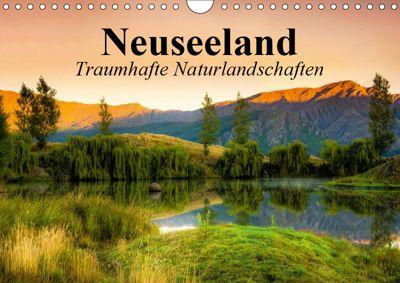 Neuseeland. Traumhafte Naturlandschaften (Wandkalender 2019 DIN A4 quer), Elisabeth Stanzer