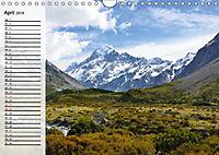 Neuseeland. Traumhafte Naturlandschaften (Wandkalender 2019 DIN A4 quer) - Produktdetailbild 4