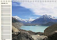 "Neuseeland - unterwegs im Land der ""Kiwis"" (Tischkalender 2019 DIN A5 quer) - Produktdetailbild 1"
