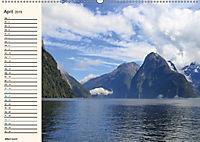 """Neuseeland - unterwegs im Land der """"Kiwis"""" (Wandkalender 2019 DIN A2 quer) - Produktdetailbild 4"""