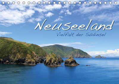 Neuseeland - Vielfalt der Südinsel (Tischkalender 2019 DIN A5 quer), Jana Thiem-Eberitsch
