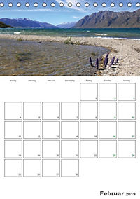 Neuseeland - Vielfalt der Südinsel (Tischkalender 2019 DIN A5 hoch) - Produktdetailbild 2