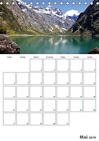 Neuseeland - Vielfalt der Südinsel (Tischkalender 2019 DIN A5 hoch) - Produktdetailbild 5