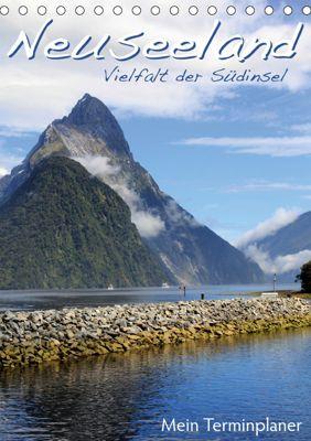 Neuseeland - Vielfalt der Südinsel (Tischkalender 2019 DIN A5 hoch), Jana Thiem-Eberitsch