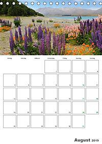 Neuseeland - Vielfalt der Südinsel (Tischkalender 2019 DIN A5 hoch) - Produktdetailbild 8