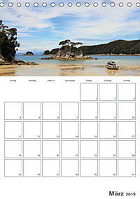 Neuseeland - Vielfalt der Südinsel (Tischkalender 2019 DIN A5 hoch) - Produktdetailbild 3