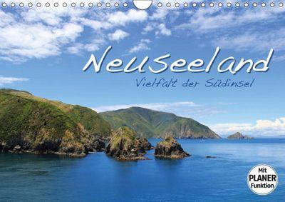 Neuseeland - Vielfalt der Südinsel (Wandkalender 2019 DIN A4 quer), Jana Thiem-Eberitsch