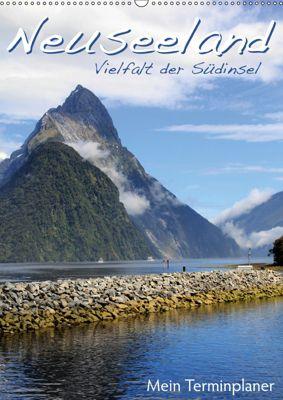 Neuseeland - Vielfalt der Südinsel (Wandkalender 2019 DIN A2 hoch), Jana Thiem-Eberitsch