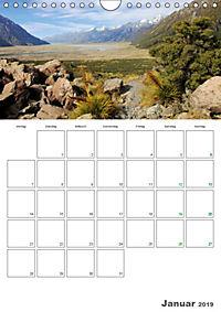 Neuseeland - Vielfalt der Südinsel (Wandkalender 2019 DIN A4 hoch) - Produktdetailbild 1