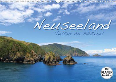 Neuseeland - Vielfalt der Südinsel (Wandkalender 2019 DIN A3 quer), Jana Thiem-Eberitsch