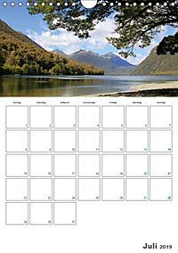 Neuseeland - Vielfalt der Südinsel (Wandkalender 2019 DIN A4 hoch) - Produktdetailbild 7