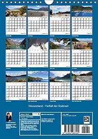 Neuseeland - Vielfalt der Südinsel (Wandkalender 2019 DIN A4 hoch) - Produktdetailbild 13