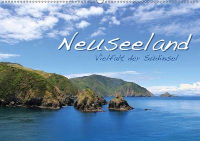 Neuseeland - Vielfalt der Südinsel (Wandkalender 2019 DIN A2 quer), Jana Thiem-Eberitsch