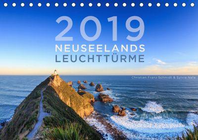 Neuseelands Leuchttürme (Tischkalender 2019 DIN A5 quer), Christian Franz Schmidt