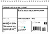 Neustadt am Rübenberge Natur in Stadtnähe (Tischkalender 2019 DIN A5 quer) - Produktdetailbild 13