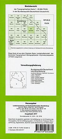 Neutrebbin 1 : 25 000 - Produktdetailbild 1