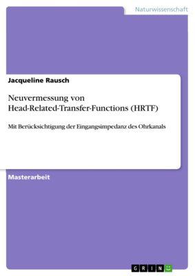 Neuvermessung von Head-Related-Transfer-Functions (HRTF), Jacqueline Rausch