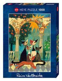 Puzzle 1.000 Teile Spiel Deutsch 2016 Schmusekatzen Puzzles Geduldspiel