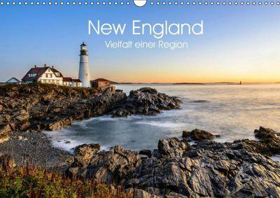 New England - Vielfalt einer Region (Wandkalender 2019 DIN A3 quer), Lukas Proszowski