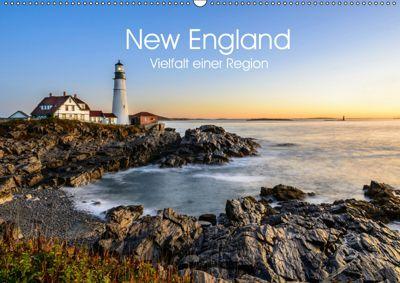 New England - Vielfalt einer Region (Wandkalender 2019 DIN A2 quer), Lukas Proszowski