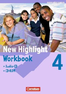 New Highlight, Hauptschule Baden-Württemberg: Bd.4 8. Schuljahr, Workbook m. Audio-CD u. CD-ROM