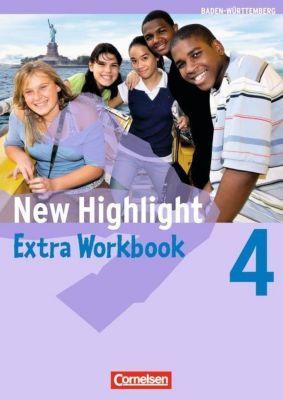 New Highlight, Hauptschule Baden-Württemberg: Bd.4 8. Schuljahr, Extra Workbook