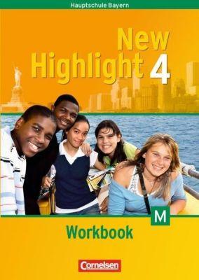New Highlight, Hauptschule Bayern: Bd.4 8. Schuljahr, Workbook für M-Klassen