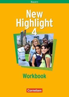 New Highlight, Hauptschule Bayern: Bd.4 8. Schuljahr, Workbook