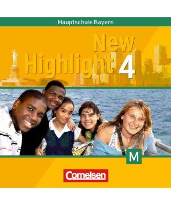 New Highlight, Hauptschule Bayern: Bd.4 8. Schuljahr, 2 Audio-CDs für M-Klassen