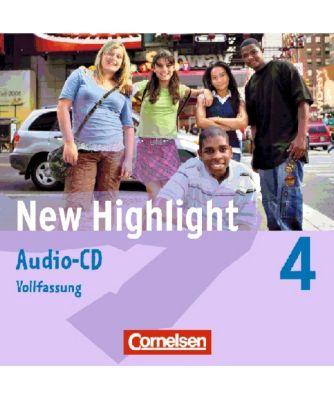 New Highlight, Hauptschule: Bd.4 8. Schuljahr, 2 Audio-CDs (Vollfassung)