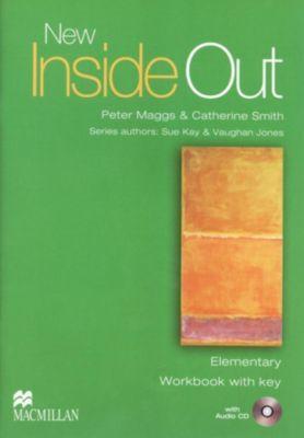 New Inside Out, Elementary: Workbook, w. Audio-CD, Sue Kay, Vaughan Jones