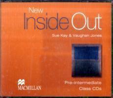 New Inside Out, Pre-intermediate: 3 Class Audio-CDs, Sue Kay, Vaughan Jones