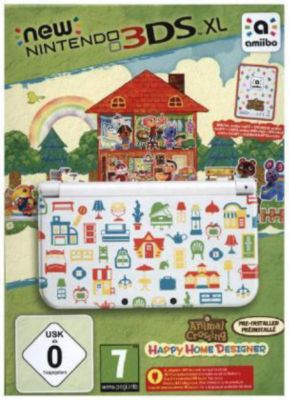 New Nintendo 3ds Xl Konsole Animal Crossing Happy Home Designer Konsole Nintendo 3ds Spiel