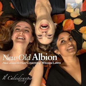 New Old Albion-Music Around The Harp Consorts, Il Caleidoscopio Ensemble