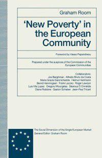 'New Poverty' in the European Community, Graham Room