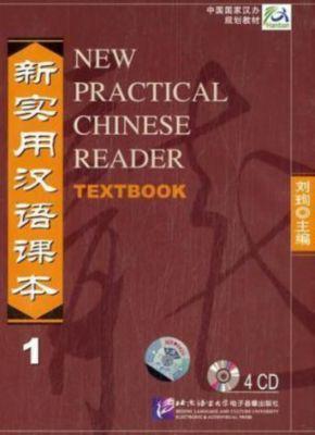 New Practical Chinese Reader: Pt.1 4 Audio-CDs zum Textbook, Xun Liu
