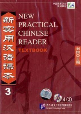 New Practical Chinese Reader: Pt.3 4 Audio-CDs zum Textbook