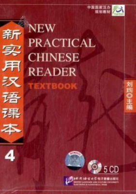 New Practical Chinese Reader: Pt.4 5 Audio-CDs zum Textbook