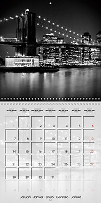 NEW YORK CITY Famous Cityscapes (Wall Calendar 2019 300 × 300 mm Square) - Produktdetailbild 1