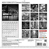 NEW YORK CITY Famous Cityscapes (Wall Calendar 2019 300 × 300 mm Square) - Produktdetailbild 13