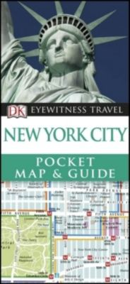 New York City Pocket Map and Guide, DK Travel