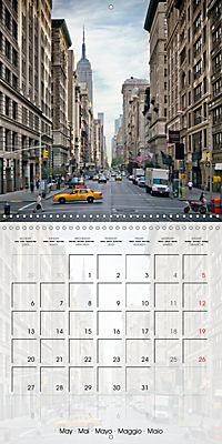 NEW YORK CITY Urban Highlights (Wall Calendar 2019 300 × 300 mm Square) - Produktdetailbild 5