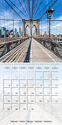 NEW YORK CITY Urban Highlights (Wall Calendar 2019 300 × 300 mm Square) - Produktdetailbild 2