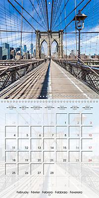 NEW YORK CITY Urban Highlights (Wall Calendar 2019 300 × 300 mm Square) - Produktdetailbild 2