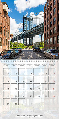 NEW YORK CITY Urban Highlights (Wall Calendar 2019 300 × 300 mm Square) - Produktdetailbild 7
