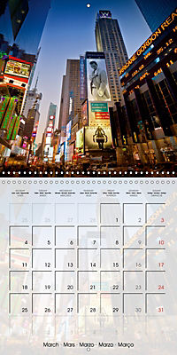 NEW YORK CITY Urban Highlights (Wall Calendar 2019 300 × 300 mm Square) - Produktdetailbild 3