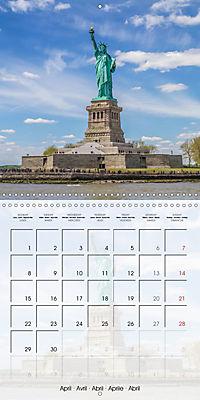 NEW YORK CITY Urban Highlights (Wall Calendar 2019 300 × 300 mm Square) - Produktdetailbild 4